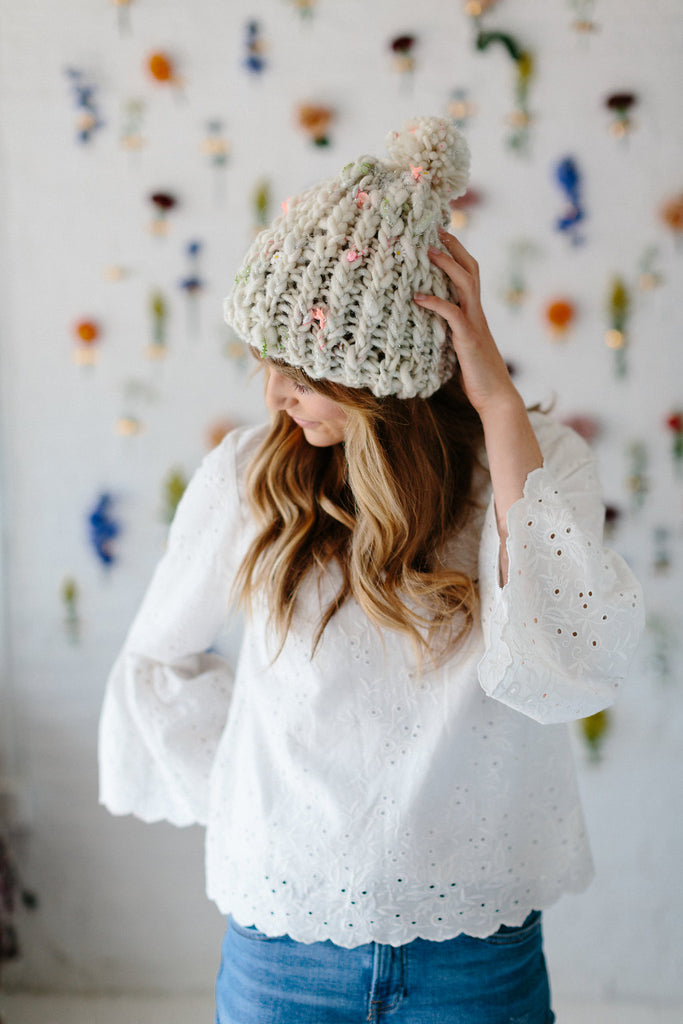 Ribby Slouch Beanie ~ FREE – Knit Collage