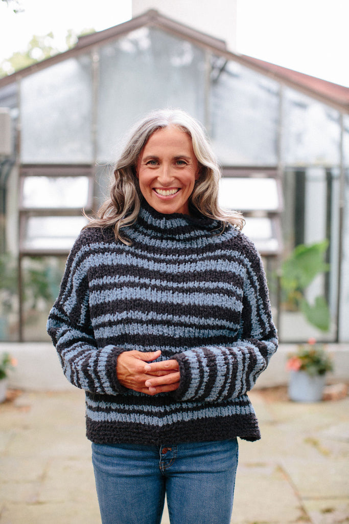 Serenity Stripe Sweater Pattern
