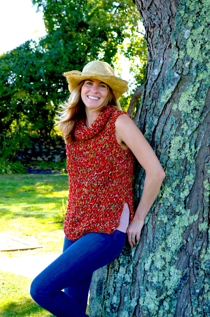 Wildflower Peasant Tunic Pattern – Knit Collage