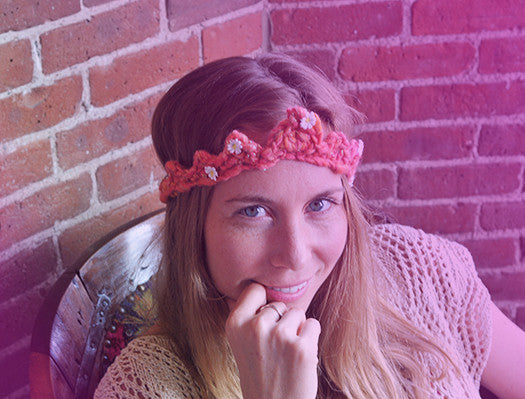 Daisy Chain Crown Pattern
