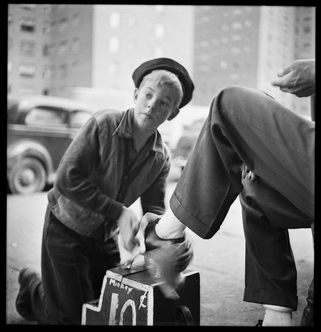 New York Shoe Shine Boy: Stanley Kubrik