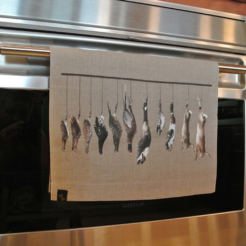 Wild Game Linen Kitchen Towels