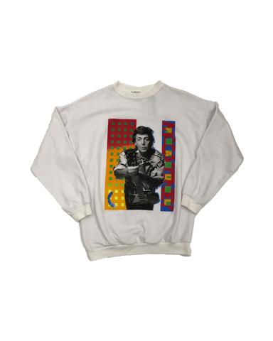 Vintage 1990 Paul McCartney Crewneck Size Large