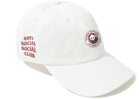 Anti Social Social Club Panda Express White Hat