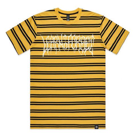 LTF Death Metal Striped T-Shirt