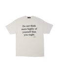 Do Not Think T-Shirt