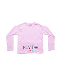 long sleeve pink shirt
