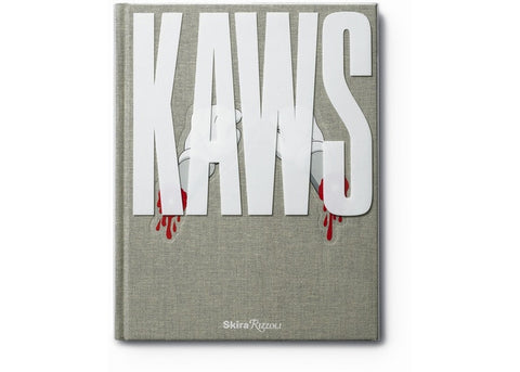 Kaws Rizzoli Hard Cover Book