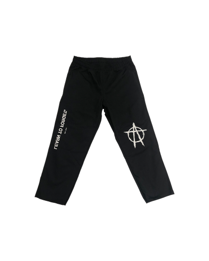 Learn to Forget Anarchy Logo Chinos
