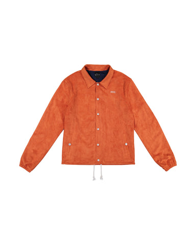 Qilo Pray MicroSuede Coach Jacket