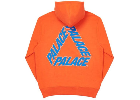 Palace P3 Team Team Orange Hoodie Size Large