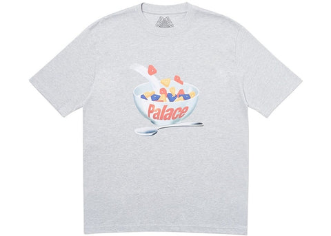 Palace Charms Grey T-Shirt Size Large