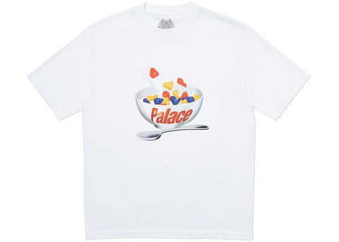 Palace Charms White T-Shirt Size Large