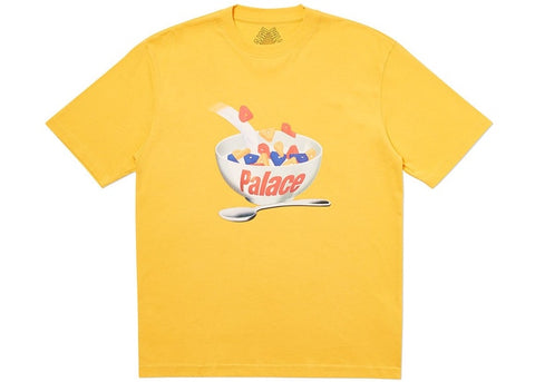 Palace Charms Yellow T-Shirt Size Medium