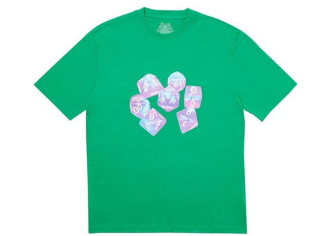 Palace Roll Dice Green T-shirt Size Large