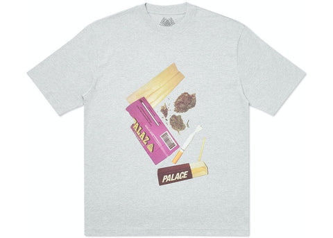 Palace Skin Up Monsieur Grey T-Shirt Size Small