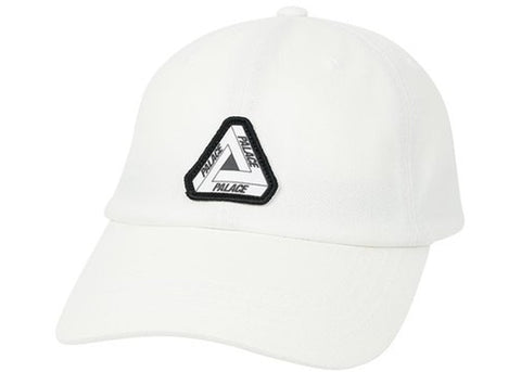 Palace Strap 6 Panel White Hat