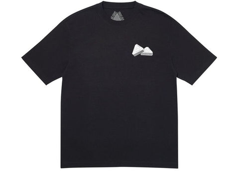 Palace Tri-Graine Black T-shirt Size Medium