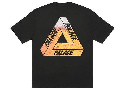 Palace Tri-Lager Black T-Shirt Size Medium