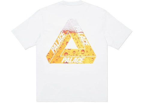 Palace Tri Lager White T-Shirt Size Medium