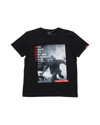 defend paris graphic tee