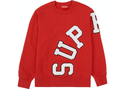 Supreme Big Arc Logo Red Crewneck Size Medium
