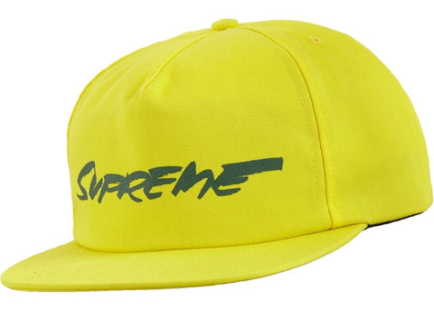 Supreme Futura Logo Yellow Hat