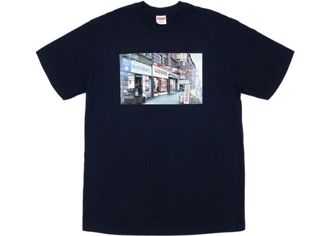 Supreme Navy Hardware T-Shirt Sz. L