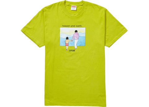Supreme Sulfur heaven and Earth T-Shirt Sz M