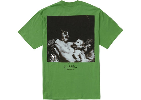 Supreme Joel Peter Mother And Child Green T-Shirt Size Large