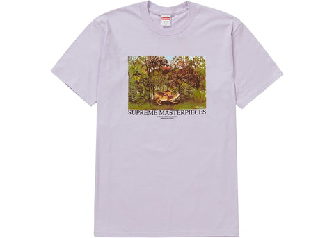 Supreme Masterpieces Purple T-Shirt Size Large