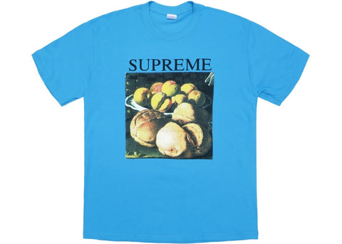 Supreme Still Life Blue T-Shirt Large