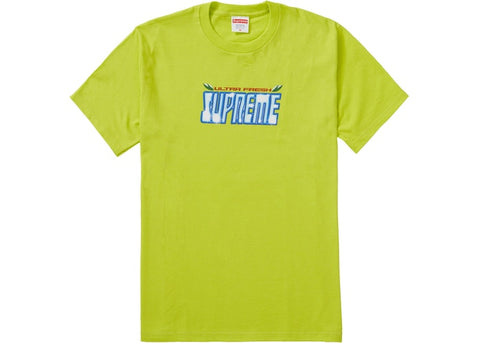 Supreme Ultra Fresh Bright Green T-Shirt Size Large