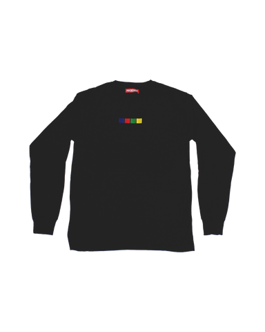 embroidered long sleeve