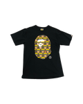 Bape Naruto Ape Head Black T-Shirt Size X-Large