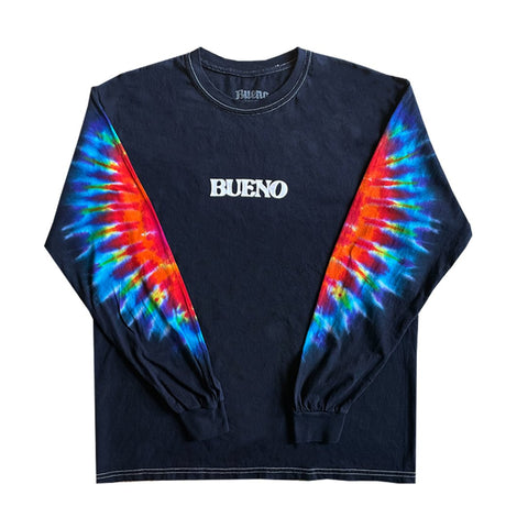 Bueno Midnight Rainbow Windjammer Tie-Dye L/S Shirt