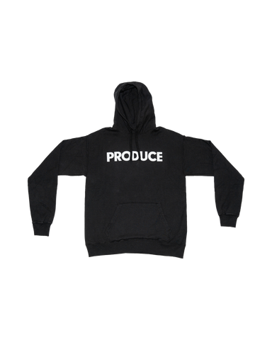 Produce SS19 Classic Font Hoodie
