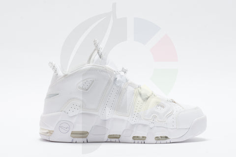 Nike Air More Uptempo Triple White Size 10.5