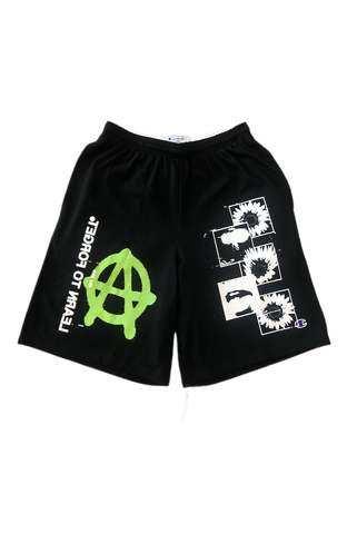 Learn To Forget Anarchy Sunflower Champion Shorts