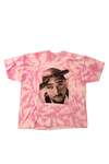 thriftedtiff Tupac Dyed Graphic T-Shirt Size XX-Large