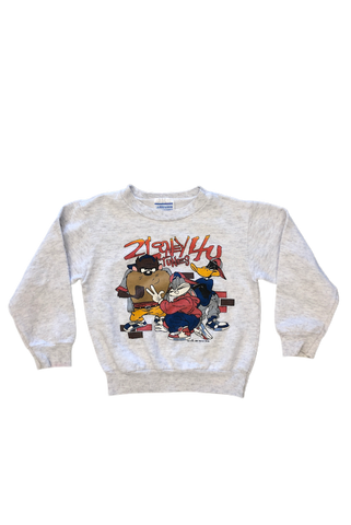 Vintage 1993 Loney Tunes Kids Crewneck Size 7