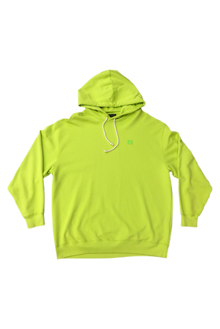Acne Studios Bright Green Hoodie Size XX-Large