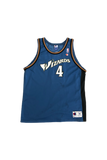 Vintage 90's Wizards Chris Webber Jersey Size X-Large