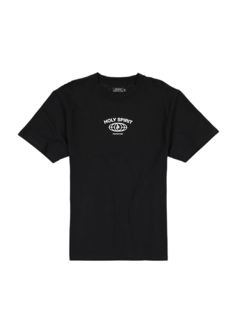 Apostle Club Holy Spirit Nutrition Facts Black T-Shirt