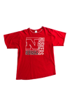 Vintage 90's Nebraska Layered T-Shirt Size Large