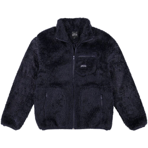 Qilo Midnight Sherpa Fleece Jacket