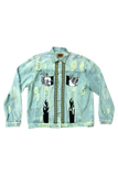 ThriftedTiff Money Walk Denim Jacket Size XX-Large