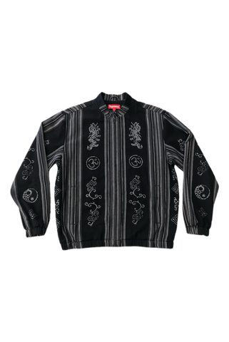 Supreme Black Bomber Jacket Size Small