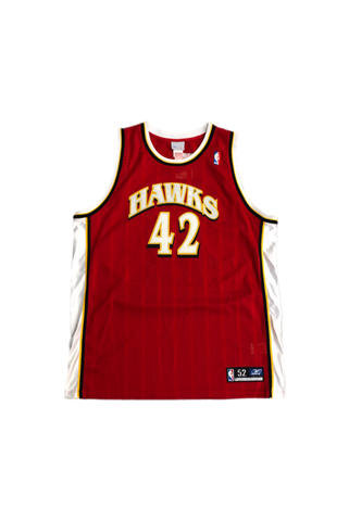 Vintage 2000's Hawks Theo Ratliff Jersey Size XX-Large