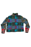 Omniscient Three Star Patchwork Flannel Size Large
